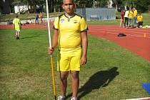 Chyšecký atlet Adrian Sivák.