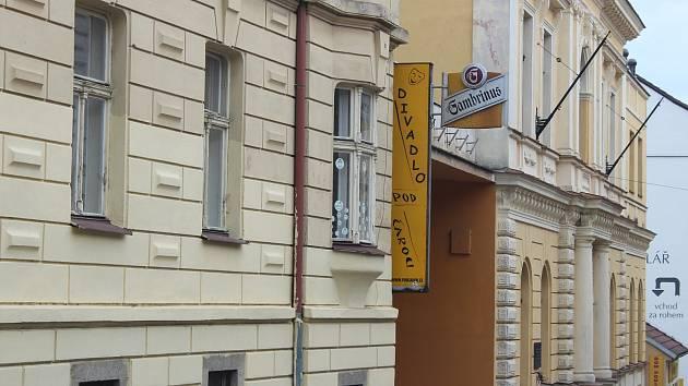 Písek, Divadlo Pod čarou. Ilustrační foto