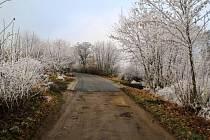 Touškov u Mirovic dostal novou část silnice.