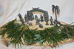 Výstava betlémů v Klukách.