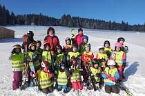 Děti z mateřinky na Hradišti vyrazily na Javorník.