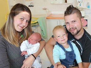 Miminka narozená v písecké porodnici z Deníku 21. října