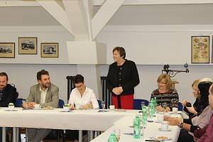 Vedení města se setkalo se zástupci píseckých firem.