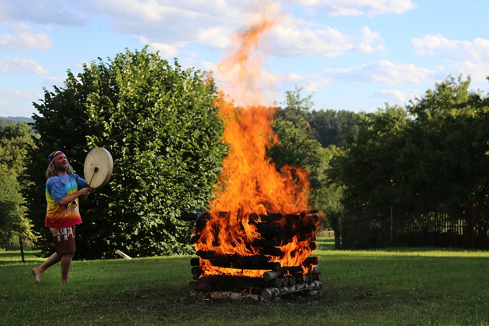 Ohňový rituál.