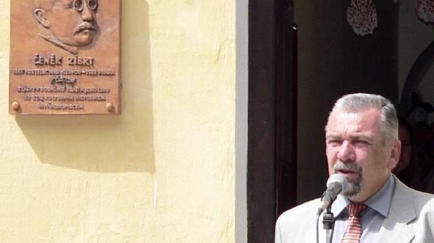 Starosta obce Karel Pecka