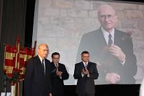Oslava 99. výročí vzniku Československa v Milevsku.
