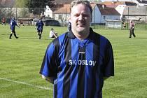 Petr Zajíček vstřelil týmu TJ Albrechtice n/Vltavou B dva góly a přispěl tak k vítězství mužstva SK Oslov v utkání okresní III. třídy v poměru 2:3.