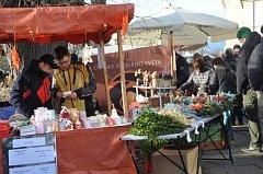 Adventní trhy v Písku.
