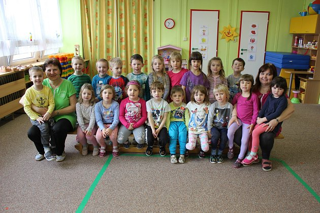 MŠ Sluníčko vMilevsku - třída Veverky
