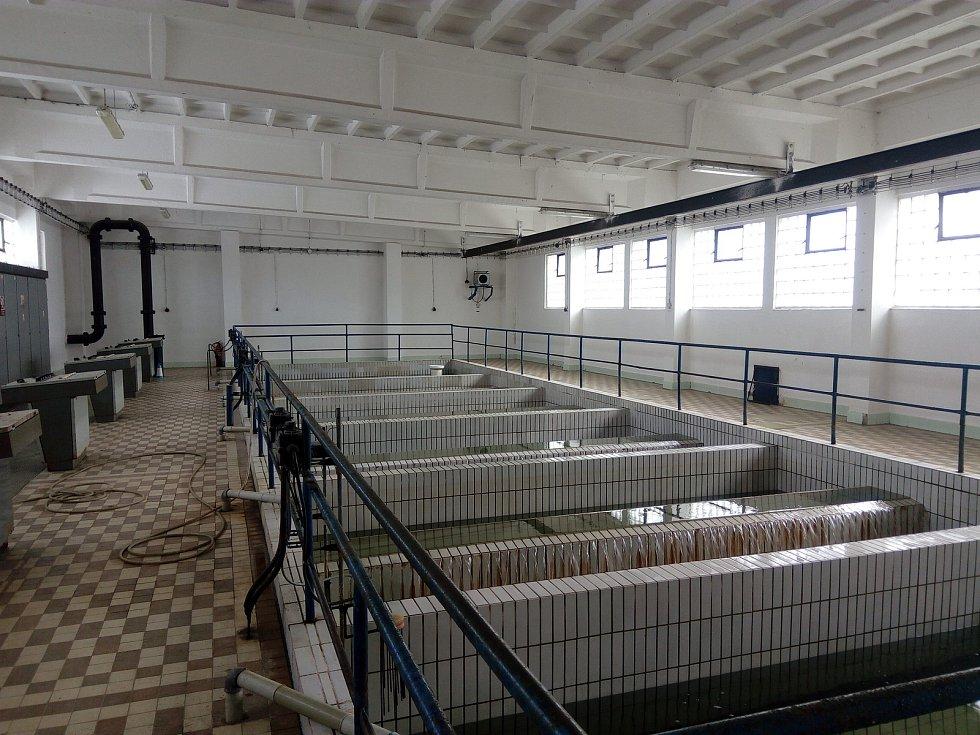 Bývalá úpravna vody v Písku.