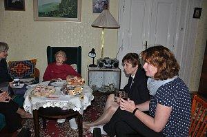 Jaromíra Švecová oslavila sté narozeniny