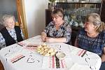Devadesáté první narozeniny paní Jarmily Pelikánové.