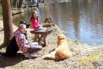 U rybníka Němec.