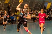 Veronika Malá držela tým hlavně v úvodu utkání svými brankami, byly důležité.