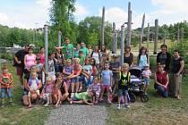 Děti z Kestřan vyzkoušely německou školku.