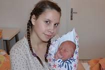Marek Král zChrášťan. Vendula a Jakub Královi se radují zprvorozeného syna narozeného 25. 1. 2019 v8.31 hodin. Při porodu vážil 3900 g a měřil 50 cm.