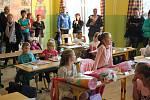 Zahájení školního roku v ZŠ Mikoláše Alše Mirotice.