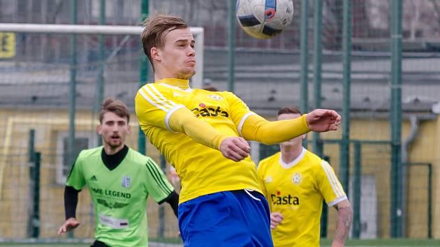 Útočník FC Písek Martin Held.