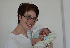 Jan Fučík zBernartic. Prvorozený syn Leony a Víta Fučíkových se narodil 7. 5. 2018 v8.41 hodin, při narození vážil 3250 g a měřil52 cm.