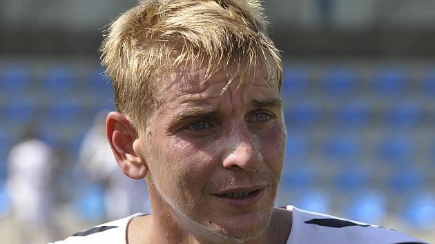 Písecký útočník Jan Zušťák vstřelil v minulém zápase třetí fotbalové ligy proti Královu Dvoru dva góly a přispěl tak k výhře svého týmu v poměru 4:0.