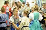 Setkání jihočeských dětských folklorních souborů v Milevsku.