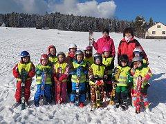 Zimní škola v přírodě.