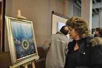 První akcí roku 2013 v písecké galerii Portyč byla výstava obrazů Václava Švejcara.