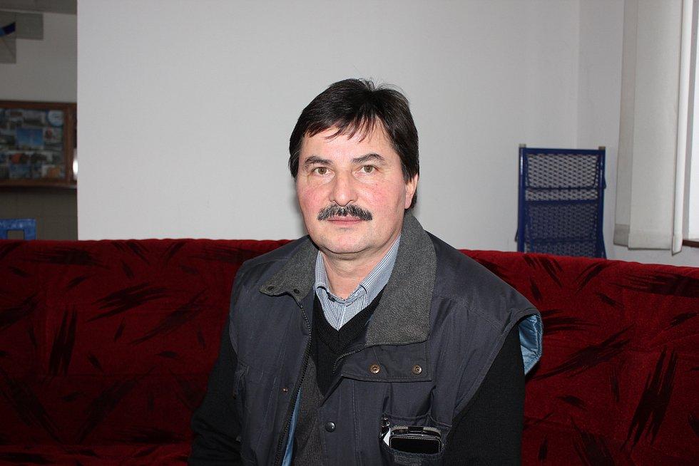 Starosta Hrazan Luboš Bolek.