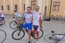 Jan Bicek a Svaťa Božák, jediný Čech, který dokončil RAAM (Race across America).