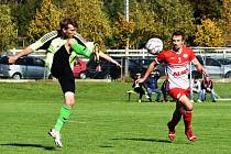 Fotbalová A třída: Semice - Strunkovice 4:0 (3:0).