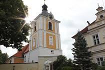 Kostelec nad Vltavou.
