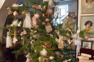 Vánoční nostalgická výstava v Muzeu dob dávno minulých sběratelky Mileny Drtinové v Čimelicích.