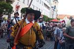Městská slavnost Dotkni se Písku. Historická ceremonie.