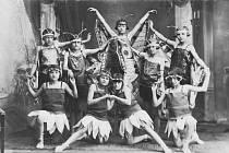 Tělocvičná akademie - rok 1930.
