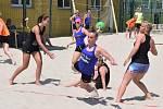 6. ročník píseckého turnaje v plážové házené.