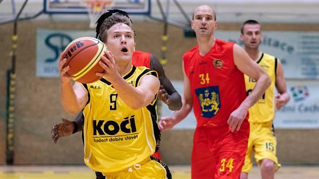 Basketbalové derby Písek - Jindřichův Hradec.