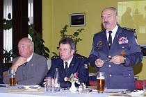 Aktiv zasloužilých funkcionářů a zasloužilých hasičů okresu Písek.
