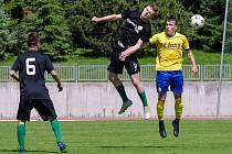 FC Písek fotbal – FK Baník Sokolov 4:0 (2:0).