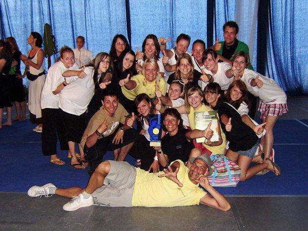 Mladí tanečníci ze Z.I.P.u v Poreči.