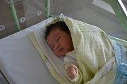 Václav Růžička zTýna nad Vltavou. Prvorozený syn Lenky a Václava Růžičkových se narodil 3. 10. 2018 v16.29 hodin, při narození vážil 3800 g a měřil 51 cm.