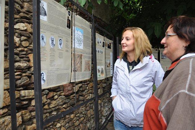 Výstava Jak jsme byli v Itálii v domě U Slona v Písku.
