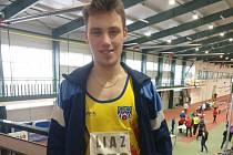 Atlet Patrik Bouška z Chyšek.