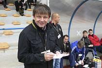 Karel Musil (na snímku), trenér třetiligových fotbalistů FC Písek, měl k výkonu svých hráčů v některých zápasech hodně připomínek, například v domácím střetnutí proti Liberci B.