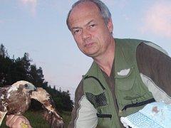 Ornitolog a zoolog Prácheňského muzea v Písku Jiří Šebestián