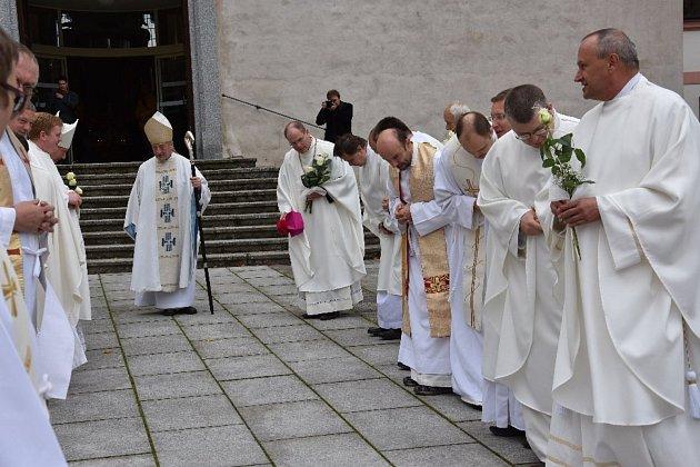 Oslavy 830. výročí milevského premonstrátského kláštera.