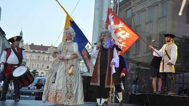 Marie Terezie na městské slavnosti