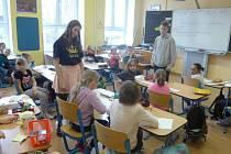 Oslava Dne učitelů v mirovické škole.