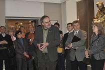 V Malých síních Prácheňského muzea v Písku se koná výstava nazvaná Arena Sancto Joannea.O životě světce promluvil prof. Jan Royt.