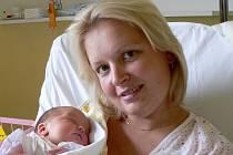 Veronika Suchanová, 1.8.2008, 8.31 hodin, 2900 g, 47 cm