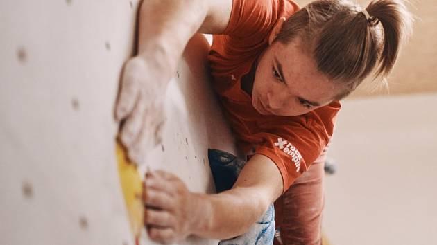 Slavnostní otevření nové lezecké stěny v Písku.